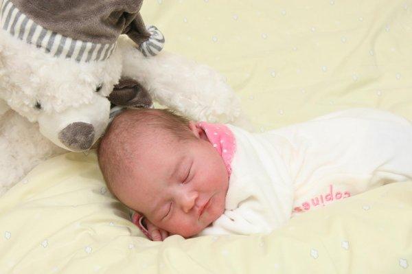 Je vous présente ma fille Cora!!!