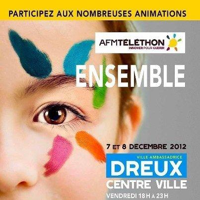 Téléthon dreux 2012