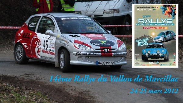Présentation rallye du Vallon de Marcillac 2012