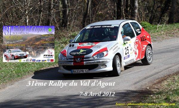 Présentation Rallye du Val d'Agout 2012