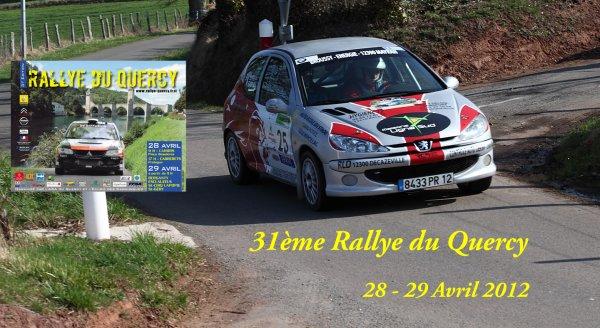 Présentation Rallye du Quercy 2012