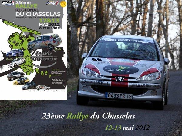 Présentation rallye du Chasselas 2012
