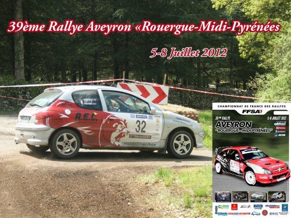 Présentation rallye du Rouergue 2012
