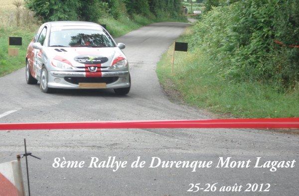 Présentation rallye du Mont-Lagast 2012