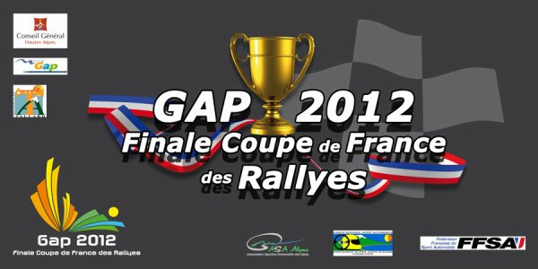Finale Coupe de France des Rallyes 2012.