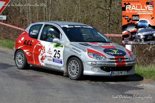 Présentation Rallye du Vallon de Marcillac 2013