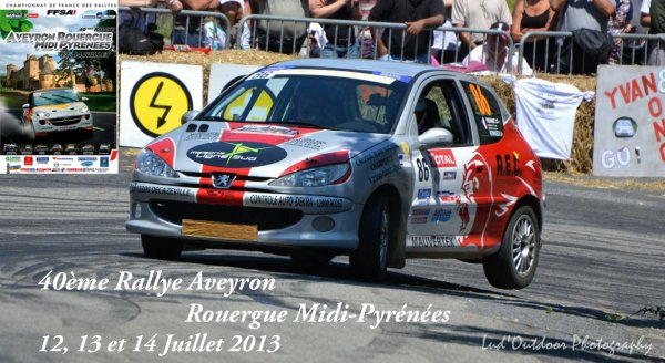 Présentation Rallye Aveyron Rouergue Midi-Pyrénées 2013