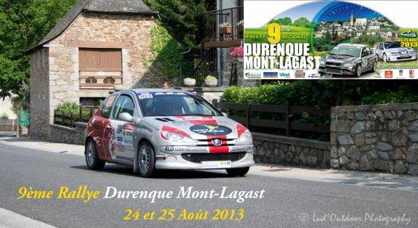 Présentation Rallye de Durenque Mont-Lagast 2013