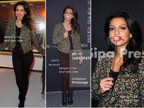 31/01/13- Tal était au Make Up Forever De Tokyo à Paris . + Un article en collaboration avec Bella-xx-Thorne.