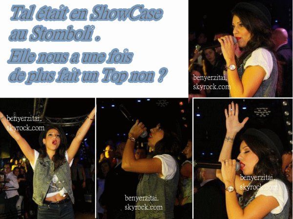 02/02/13- TAL était en Showcase au Stromboli. +Article une collaboration avec MartinaStoesselSource.