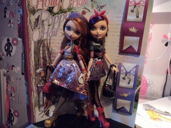 Holly & Poppy