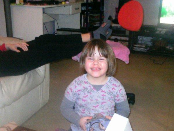 Ma fille Océane née le 16/07/2008
