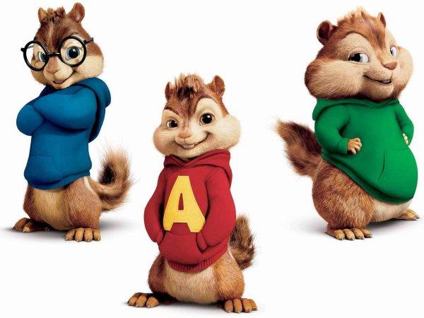 Personnages alvin et les chipmunks - Coloriage alvin et les chipmunks simon ...