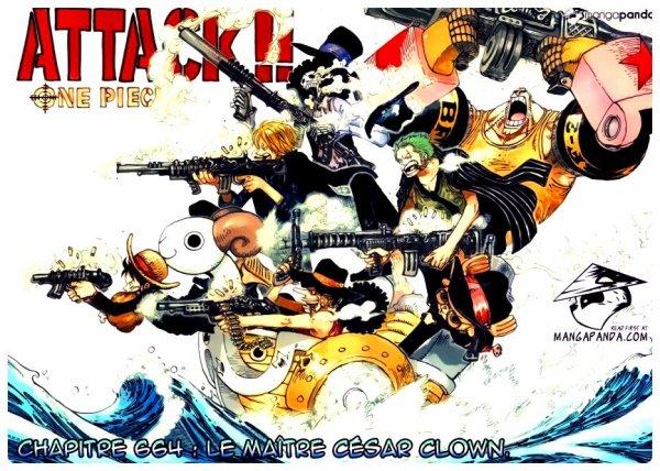 Chapitre One Piece 664.