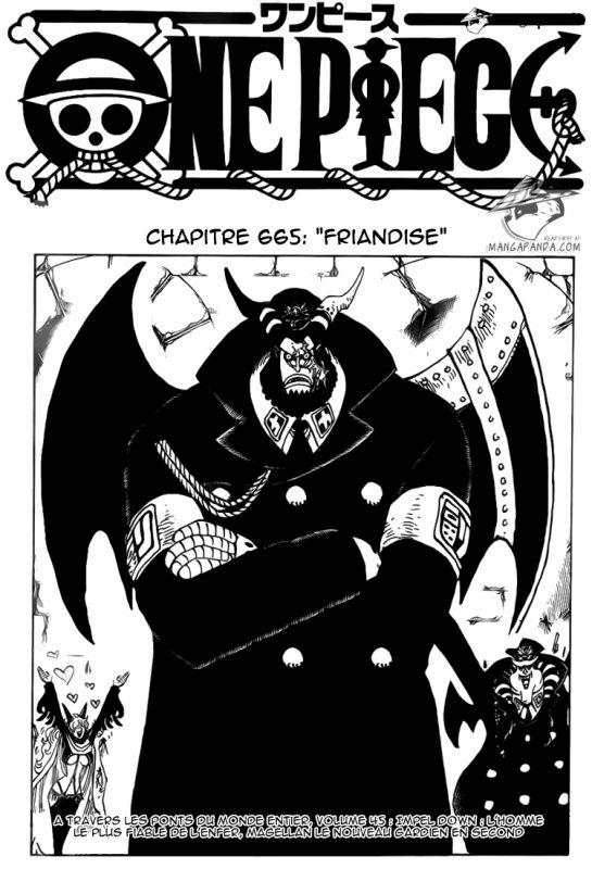 Chapitre One Piece 665.