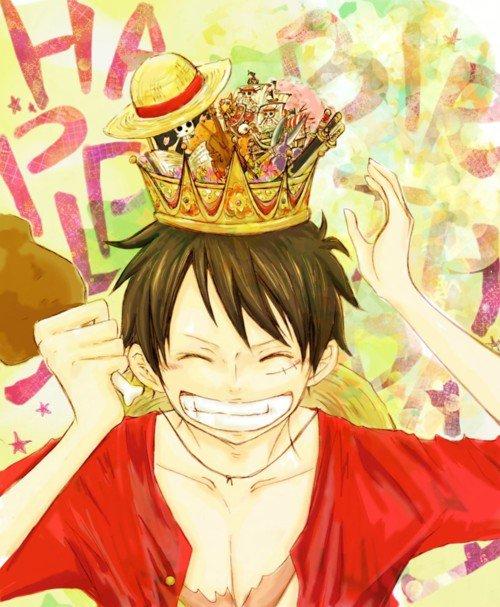 Joyeux anniversaire Luffy kun.