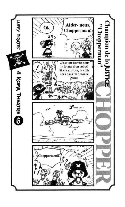 Luffy pirates 4 koma théâtre.