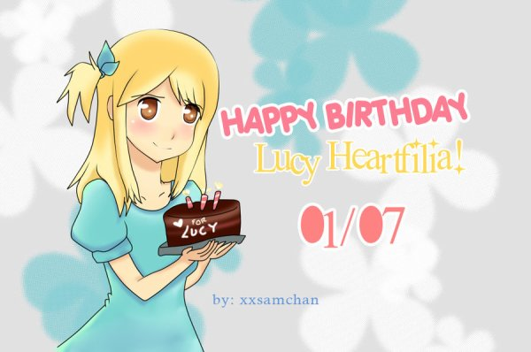 Happy Brirthday Lucy.
