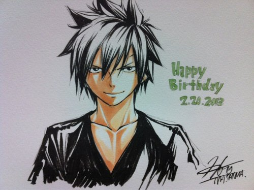 Joyeux anniversaire Gray