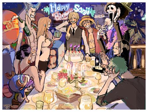 Joyeux anniversaire Sanji.