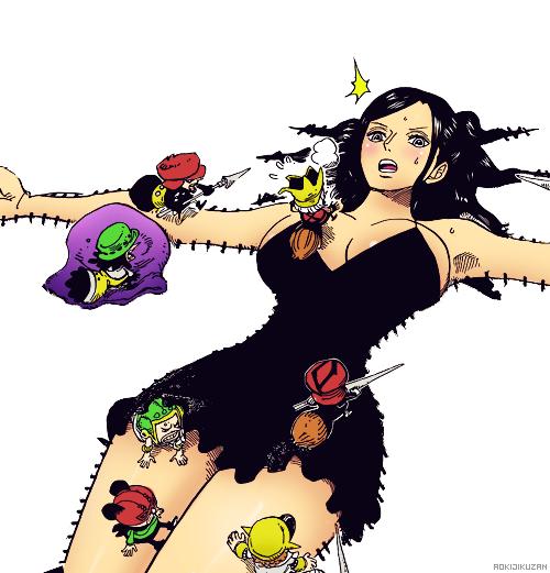One Piece chapitre 711.
