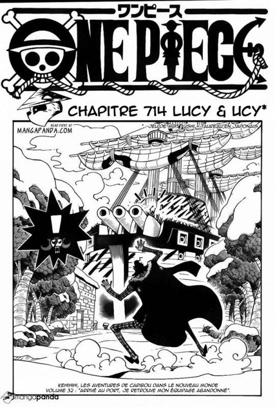 One Piece chapitre 714.