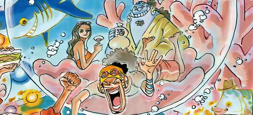 One Piece chapitre 724.
