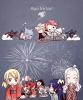 Bonne année et Joyeux anniversaire Ace et Oda.