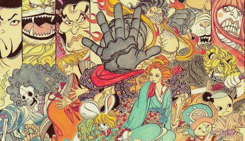 One Piece chapitre 821.