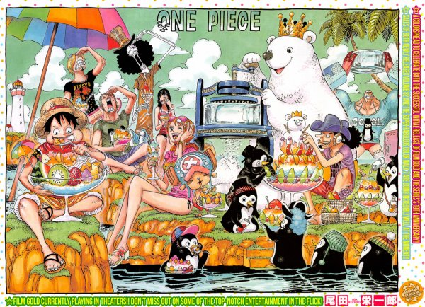One Piece chapitre 835.