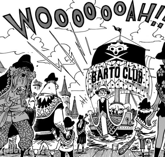 One Piece chapitre 869.
