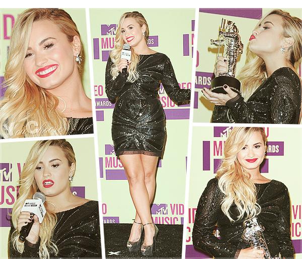 post 3. 06/08/12 : VMA's 2012 et un award pour la jolie Demi !