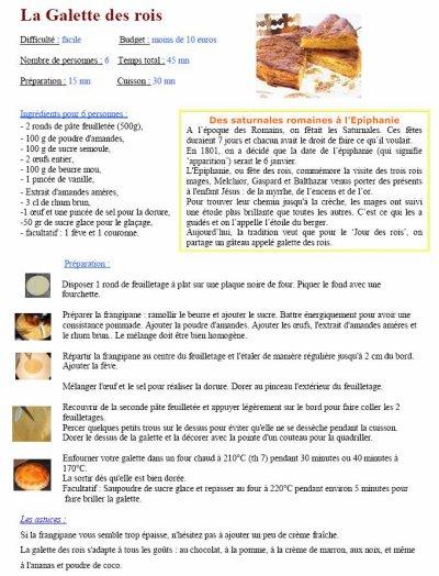 1er Atelier de cuisine de 2011