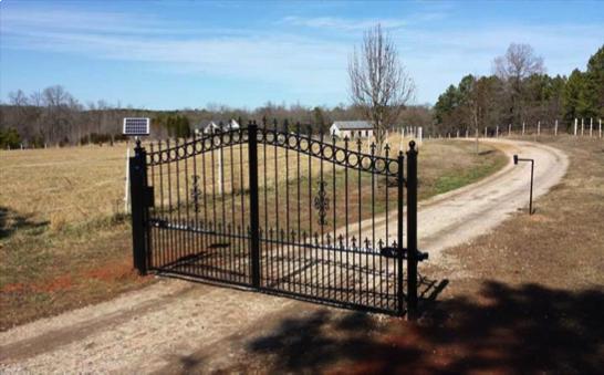 Une clôture pas fermée !