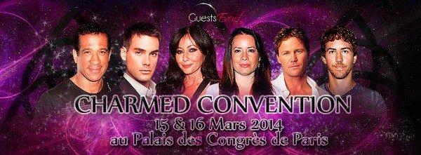 Convention Charmed à Paris le 15-16 Mars 2014