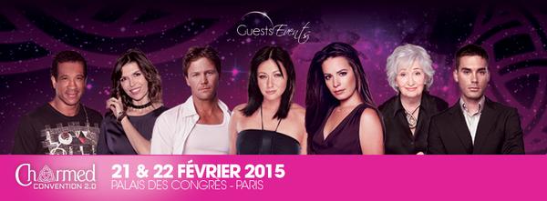 Convention Charmed 2.0 à Paris le 21 et 22 février 2015.