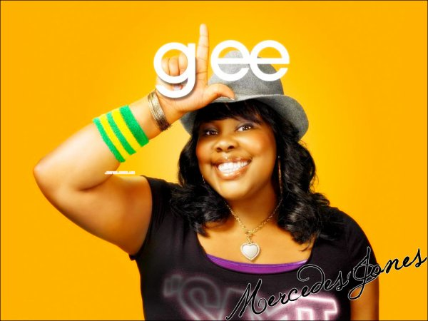 Amber Riley as Mercedes Jones