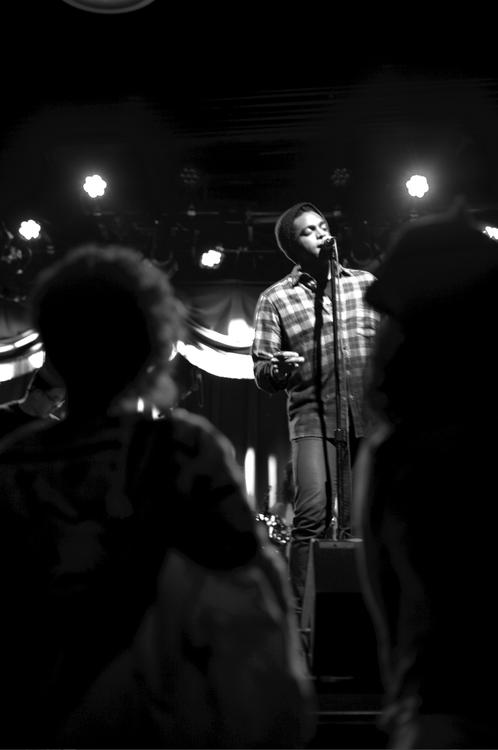 Austin en concert à Brooklyn
