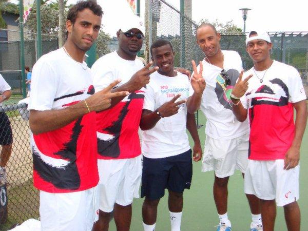 HAITI-COUPE DAVIS: Haïti jouera dans le Groupe 2  l'année prochaine