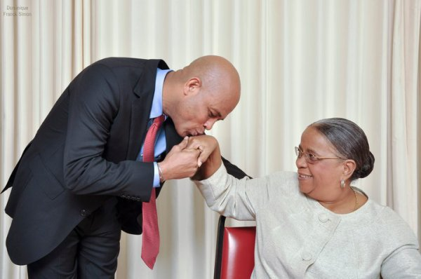 Mirlande Manigat et Michel Martelly au second tour