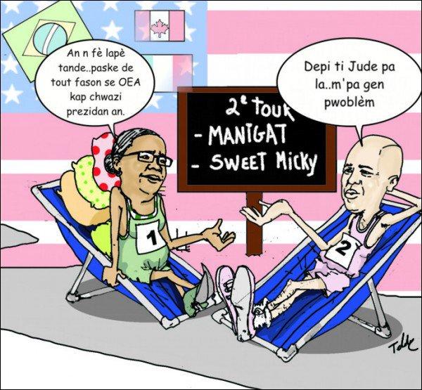 Les Haïtiens ont voté, la communauté internationale a tranché.