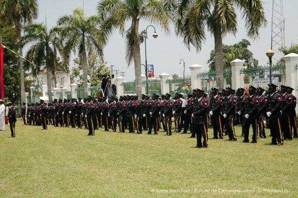 la  cérémonie d'investitutre de Martelly en photos