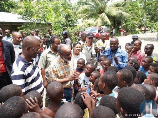 Haiti: quelques unes des réalisations de l'administration Preval