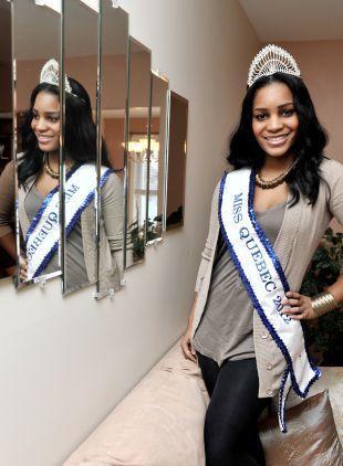 Haïti-Canada: Miss Québec 2012 est d'origine haïtienne.