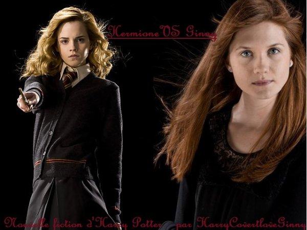 Fiction Hermione VS Ginny