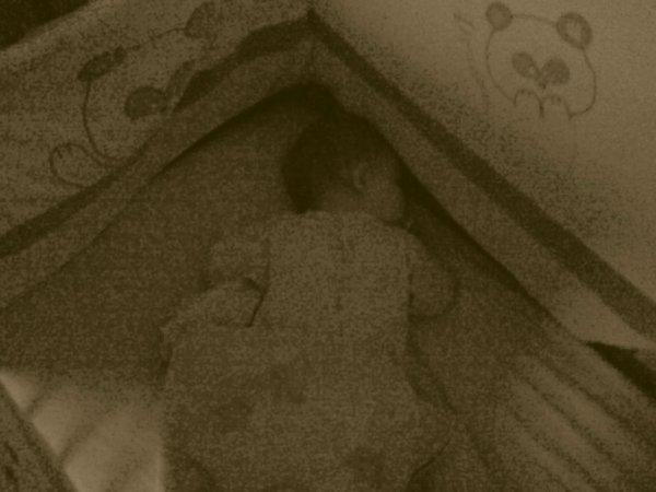 Que c'est mignon quand sa dort