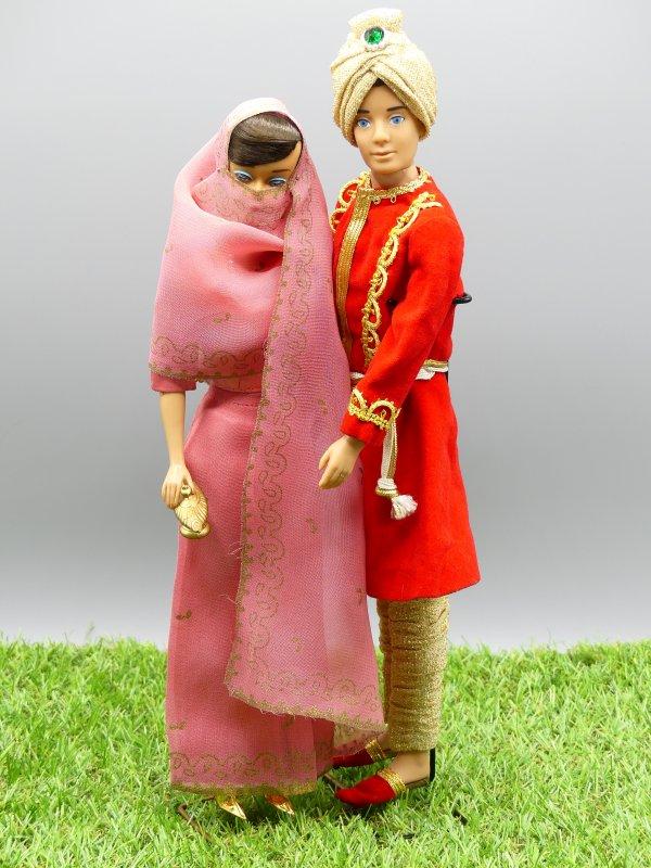 Les 1001 nuits de Barbie et Ken vintage