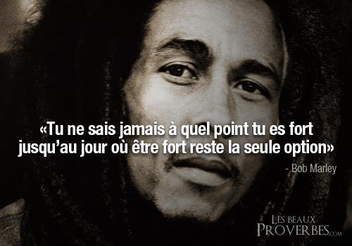 Quand J'planne Comme Bob Marley, J'sais Plus Si C'est Moi Ou La Rue Qui Est En Train D'parler..