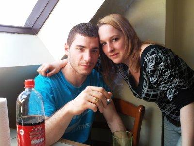 moi et le chewiii de ma soeur
