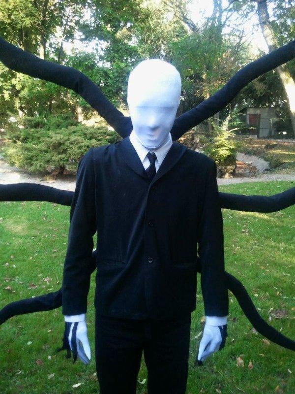 Costume Slender Halloween 2012
